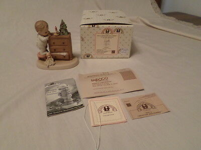 """Enesco Memories Of Yesterday """"not A Creature Was Stirrin' """"  Mib"""