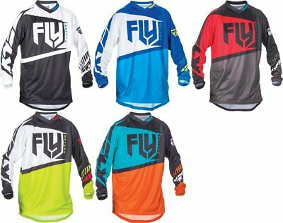Fly Racing Mens MX Offroad F-16 Jersey