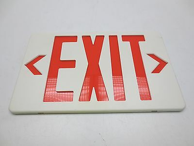 """22743 Exit Sign Face Plate 11-3/4"""" x 7-1/4"""""""