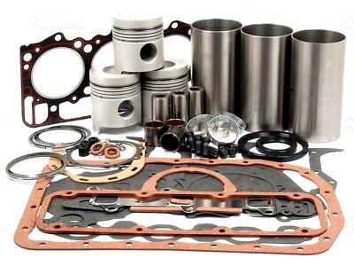 ENGINE OVERHAUL KIT WITH 129.04mm PISTONS FITS FORD 3000 FORCE & 3600 TRACTORS