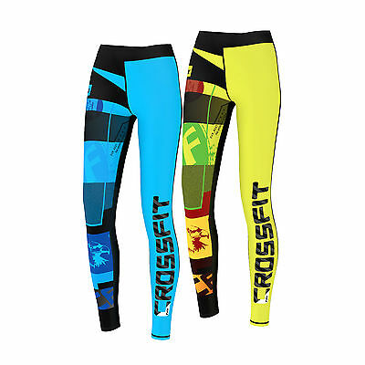 FDX Womens Crossfit Compression Tights Yoga Gym Grit Ladies Training Pants
