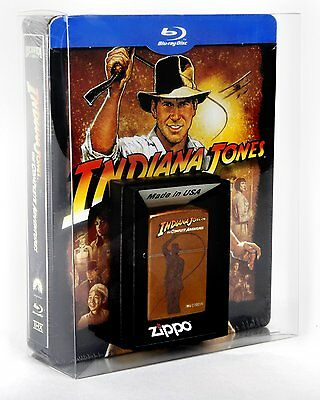 Indiana Jones: The Complete Adventures (Jumbo-SteelBook blu-ray inkl. Zippo)RARE