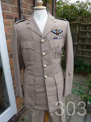 British Army Officer's Lt.Colonel Tropical Service Dress Uniform AAC Pilot RCT
