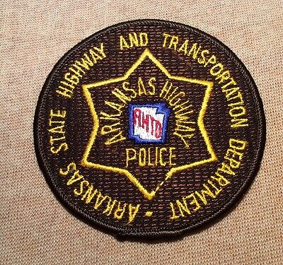 AR Arkansas State Highway and Transportation Department AHTD Police Patch
