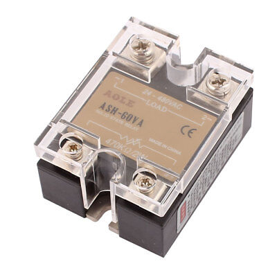 470Kohm 2W to 480VAC 60A Single Phase Solid State Relay Voltage Regulator