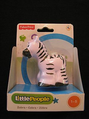 Fisher-Price Little People Zebra Zoo Animal