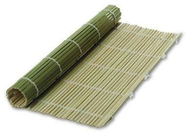 2x Bamboo Sushi Mat Roller 9.5 inch Square S-3155x2