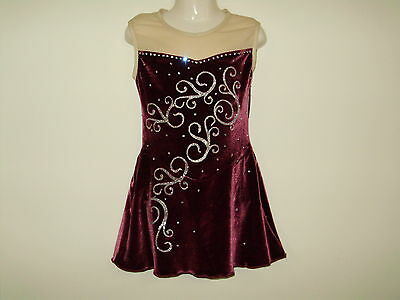 ICE SKATING / DANCE/RHYTHMIC GYMNASTICS  COSTUME Girls SIZE 10 NEW