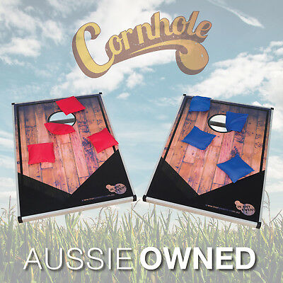 CORNHOLE TOSS - Pair of Game Boards | Party Game Bean Bag