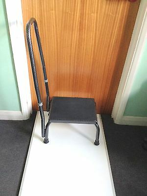 Drive Medical Footstool With Handle Step Stool Mobility disability safety Aid