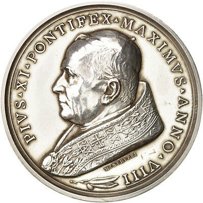 [#409737] Vatican, Medal, Pius XI, Concordat between Italy and the Holy see