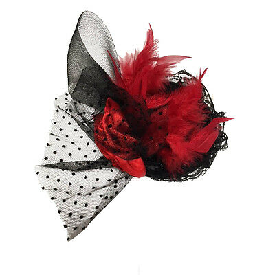 Adult's Fancy Dress Halloween Party Costume Accessory Feather Headband