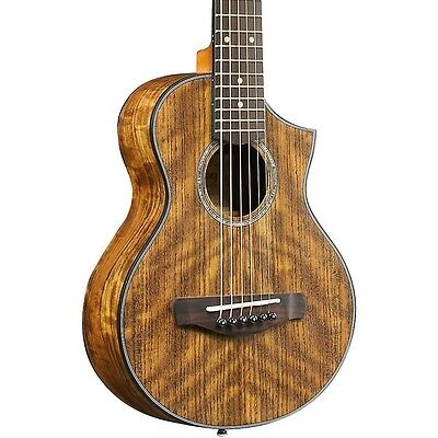 Ibanez EWP14OPN Exotic Wood Piccolo Acoustic Guitar Natural LN