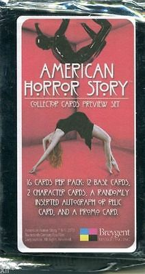 American Horror Story Preview Pack Sealed Auto Cards