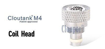 Cloupor Cloutank M4 Replacement Heads Dry Herb / Wax Coil (2PCS)