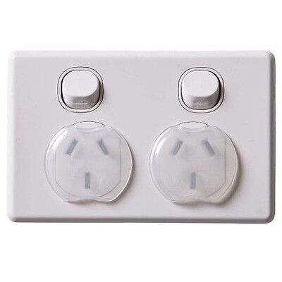 24 Safety Power Point Outlet Plug Dreambaby 3 Pin AU Cover Electric Baby Caravan