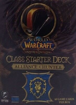 WoW Class Starter Alliance Hunter englisch Neu & OVP