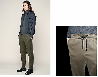 NEW THE KOOPLES FLUID DENIM JOGGING BOTTOMS lyocell Trousers - SMALL Authentic