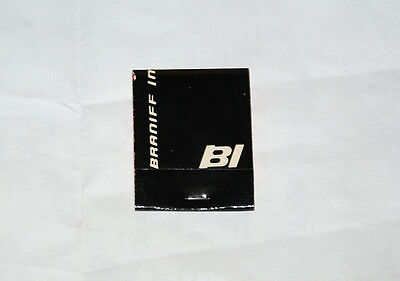 Braniff International Airlines Matches/Matchbook (BLACK)