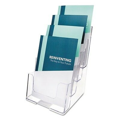 Deflecto Four-Tier Desktop Booklet Holder - 77901