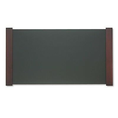 Carver Desk Pad with Wood End Panels - 02043