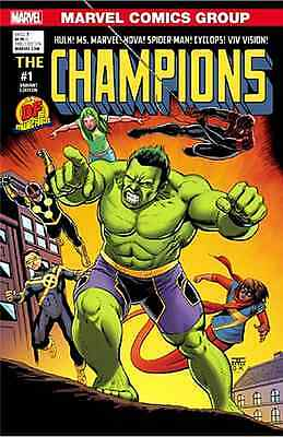 CHAMPIONS 1 VOL 2 MILE HIGH MIKE MAYHEW VARIANT NM