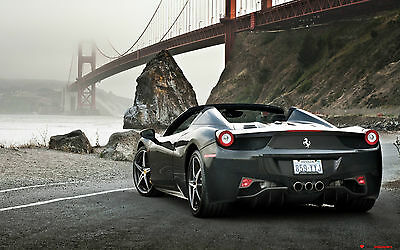 Ferrari Supercar Poster 6 - Various Sizes - Includes A Free Surprise A3 Poster