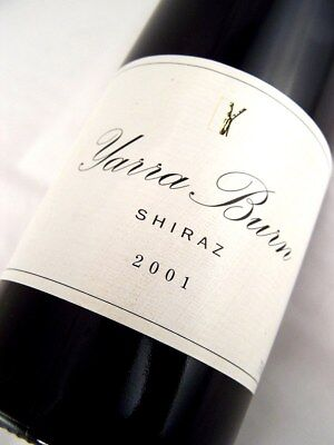 2001 YARRA BURN Vineyards Shiraz Isle of Wine