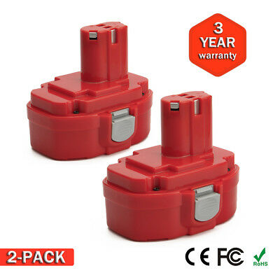 2pcs TWIN Battery for Makita PA18 1822 BMR104 8390D 8391D 18V 2000mAh Ni-Cd UK