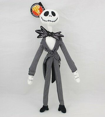The Nightmare Before Christmas Jack Skellington Power Poseable Plush Toy Gift