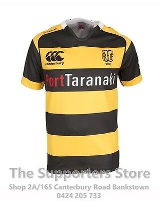 Taranaki ITM Cup 2016 Taranaki Jersey Sizes S-3XL! New Zealand Rugby!