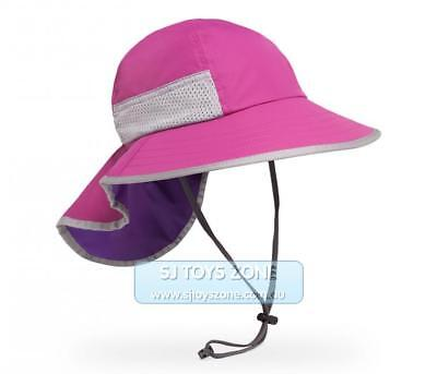 Sunday Afternoons Youth Play Sun Hat UPF 50 Blossom Grape Child Outdoor 2-5 year