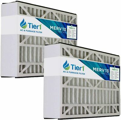 Bryant 16x25x5 Merv 13 Replacement AC Furnace Air Filter (2 Pack)