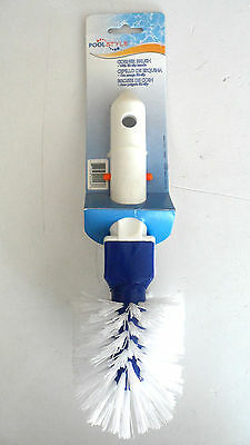 Pool Style Swimming Pool Step Cleaning Corner Brush