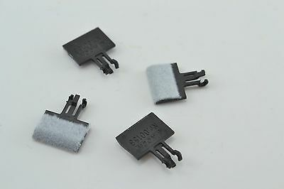 Track Cleaner Pads - attach to Rolling stock - N Scale