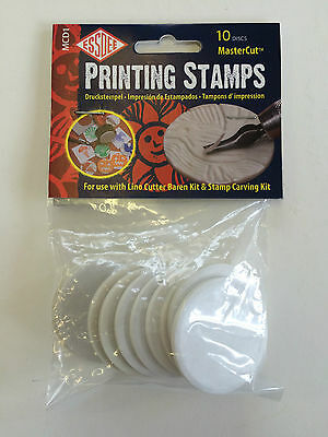 Essdee Printing Stamps - For use with Lino Cutter Kit (10 Discs)