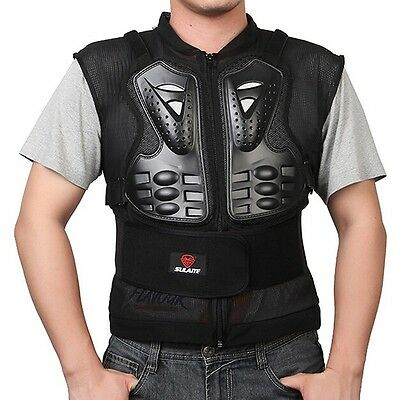 Newly Motorcycle Safety Jacket Sleeveless Protective Vest Motorbike Body Armor