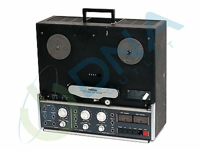 *rare Vintage* Revox B77 Stereo Reel To Reel Tape Recorder & Warranty