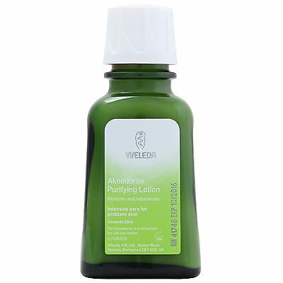 Weleda Face Aknedoron Purifying Lotion 50ml for her
