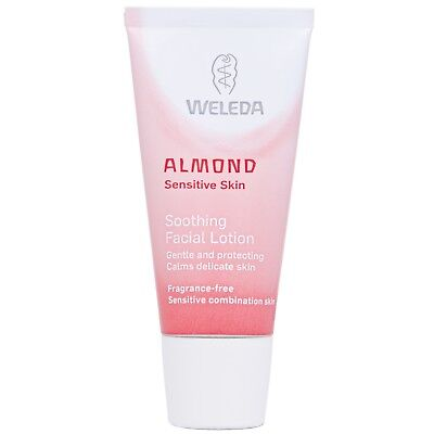 NEW Weleda Face Almond Soothing Facial Lotion 30ml FREE P&P
