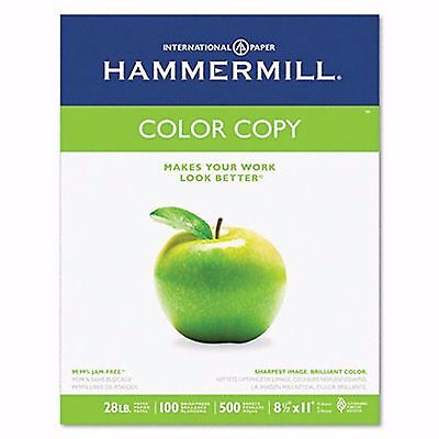 Hammermill Color Copy/Laser Paper with 98 Brightness, 28-lb., Letter, 500 ct. -