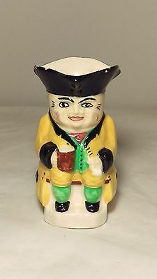 "Tony Wood Character Toby Jug - Handpainted - ENGLAND 3 1/8"" Tall"