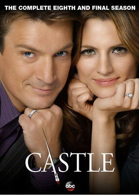 Castle: The Complete Eighth & Final Season DVD