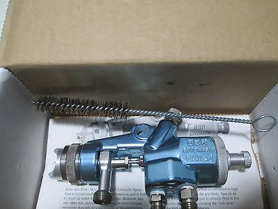 Binks Automatic Spray Gun 6203 1204 4 Mach 1 A  94-95P Hvlp Bbr  Mfg Refurbished