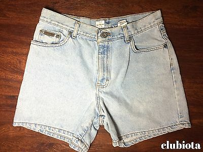 Vintage Calvin Klein jeans shorts EASY FIT light blue denim size: 10