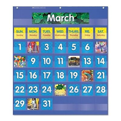Scholastic Monthly Calendar Pocket Chart - 511479