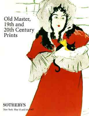 Sotheby's Old Master, 19Th Century & 20Th Century Prints ( Collections )