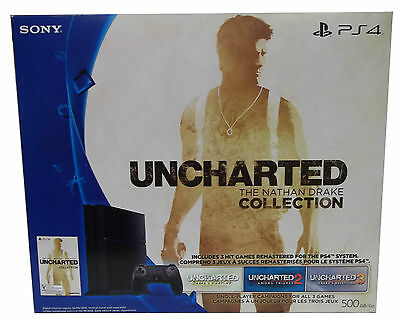 New Ps4 Uncharted The Nathan Drake Collection Sony