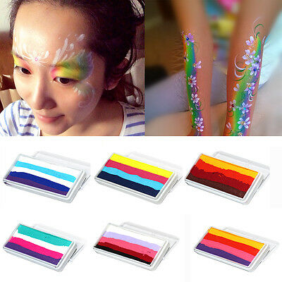 HOT 30g Multicolor Face Body Art Paint Water-soluble Halloween Party Makeup Tool