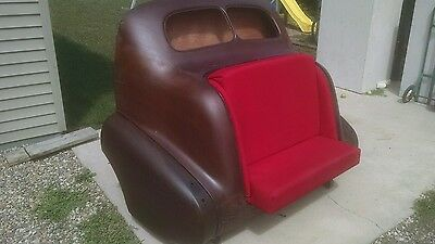 1937 pontiac humpback couch love seat Bar restaurant decor man cave rat rod rust